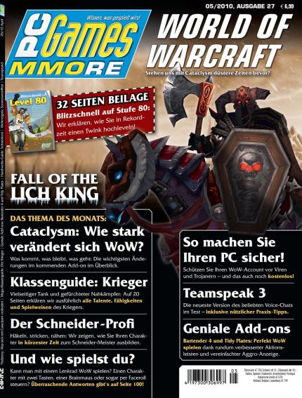 Die aktuelle PC Games MMORE 05/10