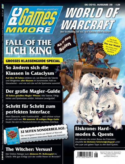 Die aktuelle PC Games MMORE 06/10