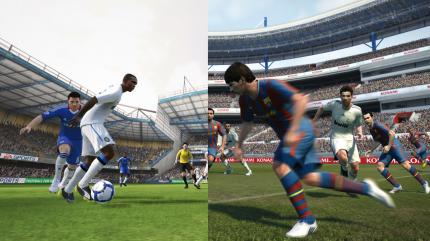 Top-5 Crossover Games - FIFA meets PES