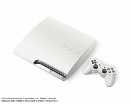 PlayStation 3 in weiß