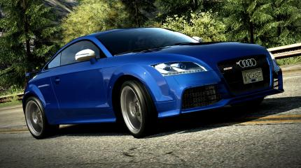 Gamescom-Bilder zu Need for Speed: Hot Pursuit zeigen exklusive und freischaltbare Autos. (Audi TT RS Coupé)