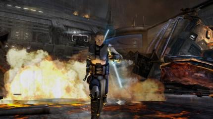 Gamescom-Bilder und Trailer zu Star Wars: The Force Unleashed 2.