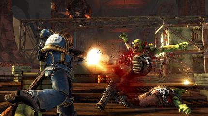 Gamescom-Bilder und Messe-Video zu Warhammer 40k: Space Marine.