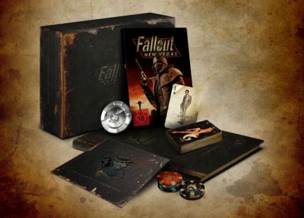 Die Fallout: New Vegas Collector's Edition.