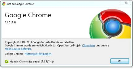 Google Chrome 7