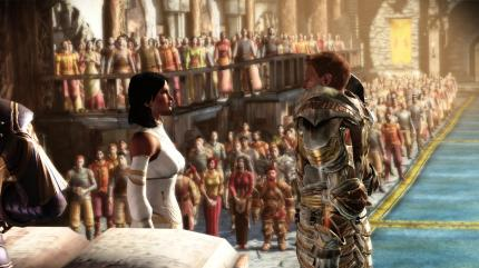 Dragon Age-Romantik pur mit The Royal Wedding.