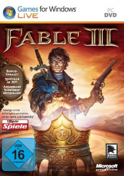 Packshot zu Fable 3 (PC)