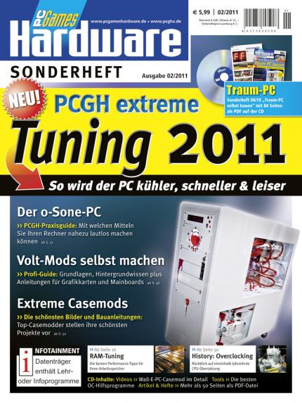 Cover: PC Games Hardware Sonderheft 02/2011 (Tuning 2011)