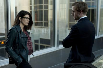 Marisa Tomei und Ryan Gosling in 'The Ides Of March'
