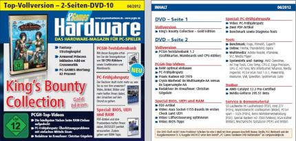 PC Games Hardware 04/2012: DVD-Cover