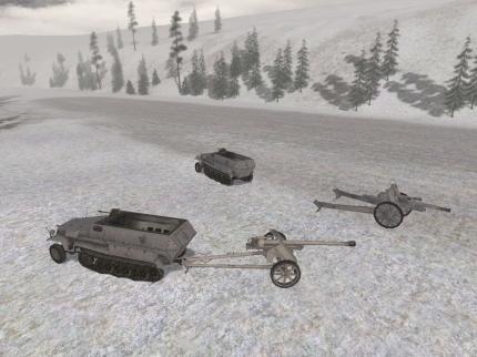 Ab- und wieder ankuppelbare Geschütze.