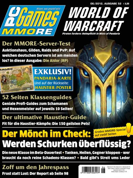 Ab 9. Mai am Kiosk: die PC Games MMORE 6/12.
