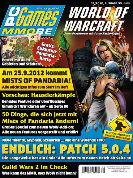 Ab 8.8. am Kiosk: die PC Games MMORE 9/12