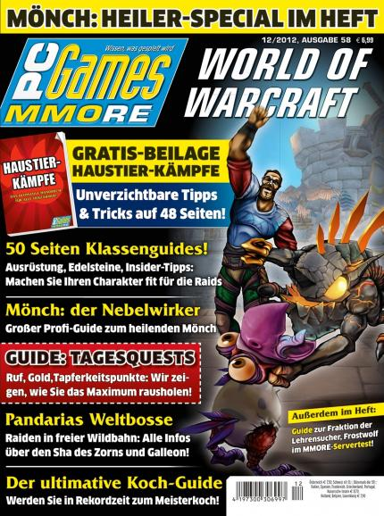 Ab 14.11. am Kiosk: die PC Games MMORE 12/12!