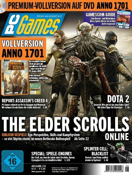 Pc games 8 13 mit exklusiv titelstory the elder scrolls for Bureau 13 pc game