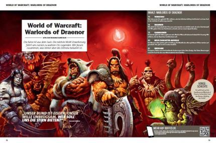 Schwerpunkt World of Warcraft: Warlords of Draenor in buffed 01-02/2014