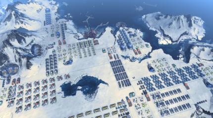 kämpfe über der antarktis