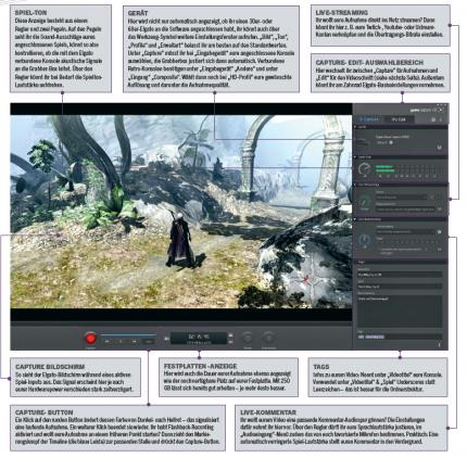 aufname programm für gaming