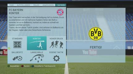 Fifa 18 Spieleinstellungen