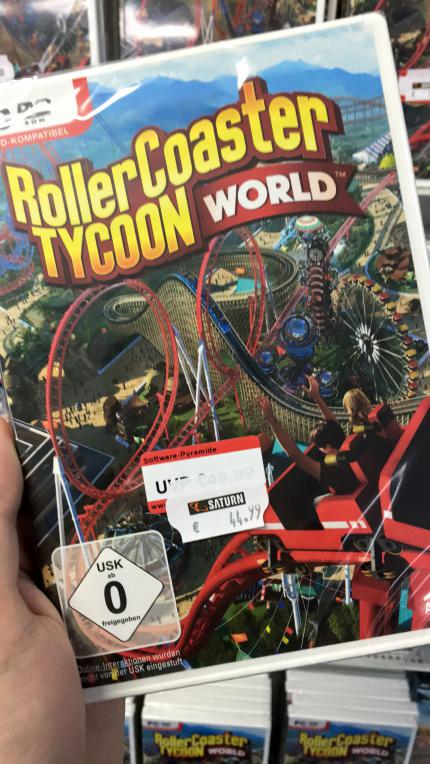 Rollercoaster Tycoon World Retail