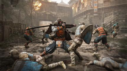 For Honor: Der Kensei im Kampf.