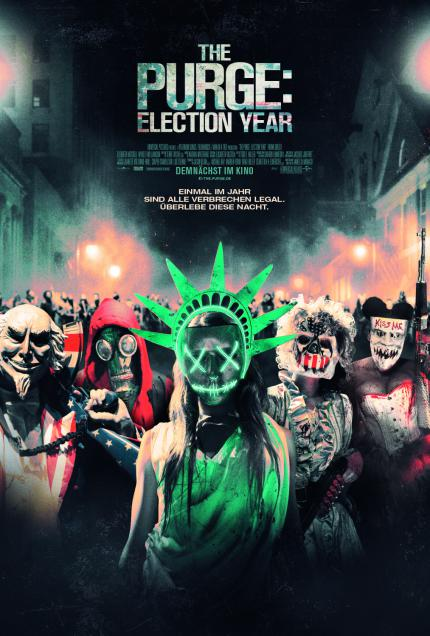 The Purge: Election Year: Gewinnt zum Kinostart coole Fan-Pakete! (3)