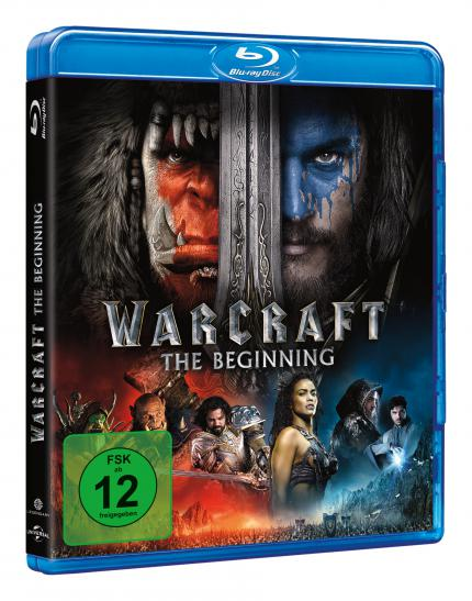 Warcraft: The Beginning auf Blu-ray