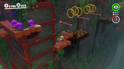 Super Mario Odyssey Alle Power Monde Finden Forstland