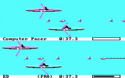 Die Games-Reihe (seit 1984) des kalifornischen Entwicklers Epyx dominiert in den 80er Jahren das Sportgeschehen auf Heimcomputern und PCs.