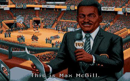 Spielerisch top, aber vor allem in puncto Inszenierung ein Meilenstein: TV Sports: Basketball von 1990.
