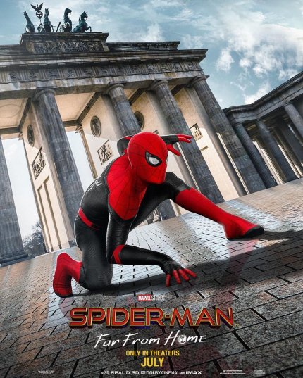 Spider-Man: Far From Home: Cover