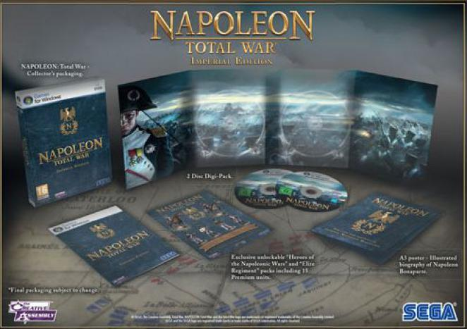 Napoleon: Total War Imperial Edition.