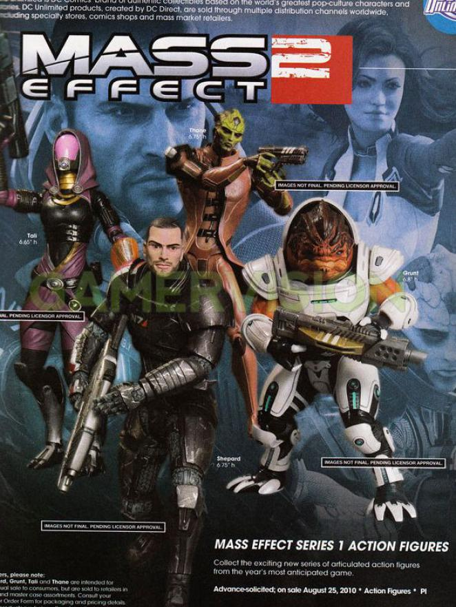 Mass Effect 2 - Action-Figuren
