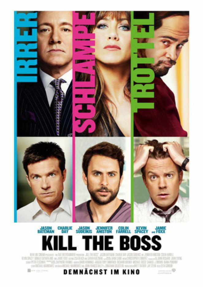 Kill The Boss. Ab Donnerstag im Kino.