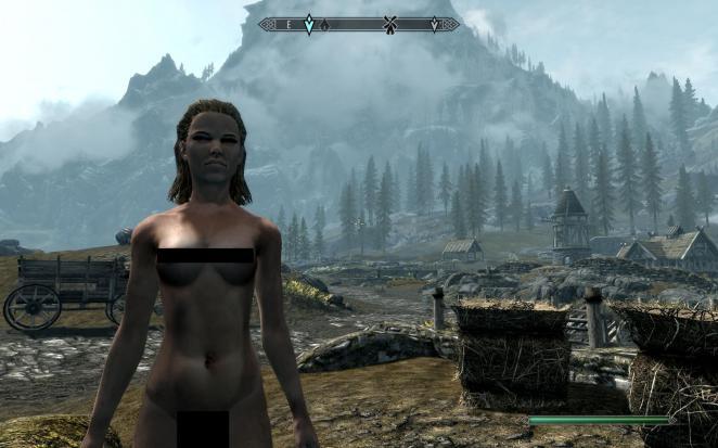 Elder Scrolls IV: Oblivion - Bab NUDE Body