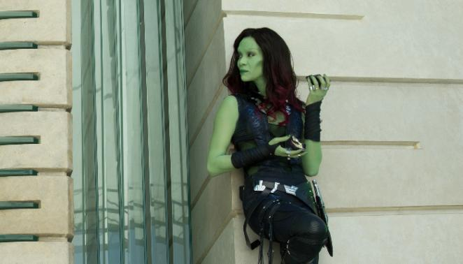 Gamora in 'Guardians of the Galaxy' (2014)