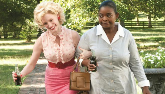 Jessica Chastain als Celia Foote (links) in 'The Help' (2011)