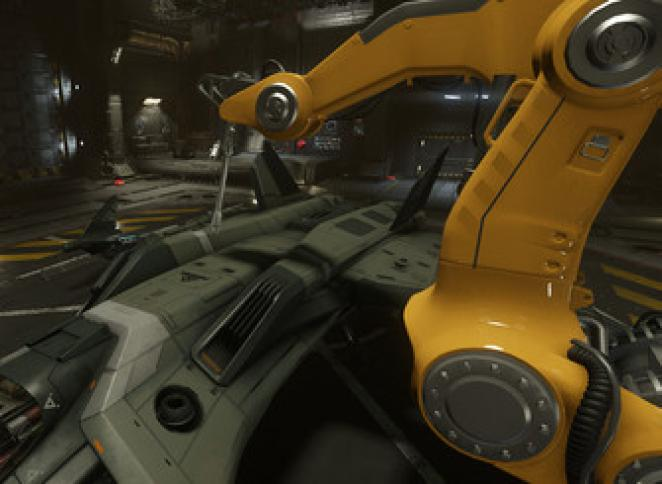 Star Citizen: Roboter-Reparatur-Arm
