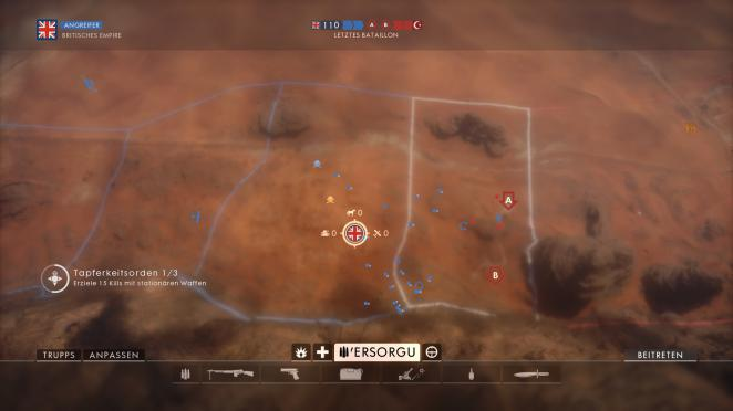 Battlefield 1: Operation Öl der Imperien - Sinai: Sektor 3