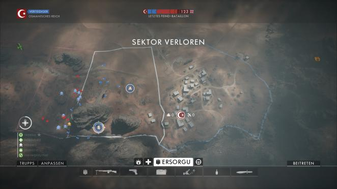 Battlefield 1: Operation Öl der Imperien - Sinai: Sektor 4