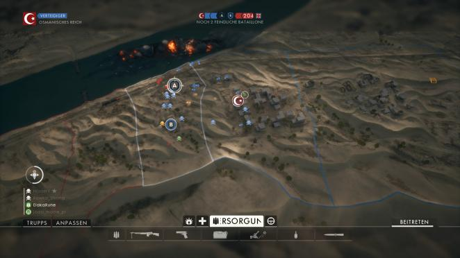 Battlefield 1: Operation Öl der Imperien - Suez: Sektor 2