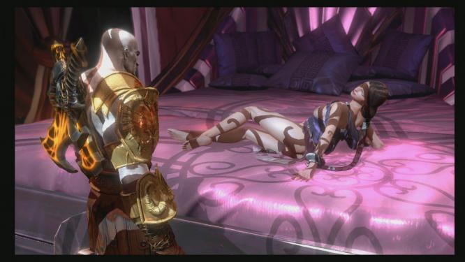 God of War --Sex Mini Game - YouTube