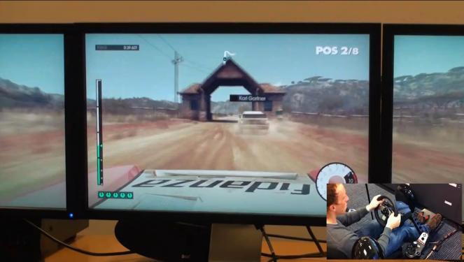dirt 3 neuer trailer zeigt rallye gameplay mit lenkrad h. Black Bedroom Furniture Sets. Home Design Ideas