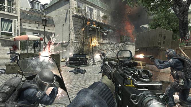 Activision wirbt mit einem neuen Live Action-Trailer für seinen Ego-Shooter Call of Duty: Modern Warfare 3, der am 8. November erscheint.  (1)