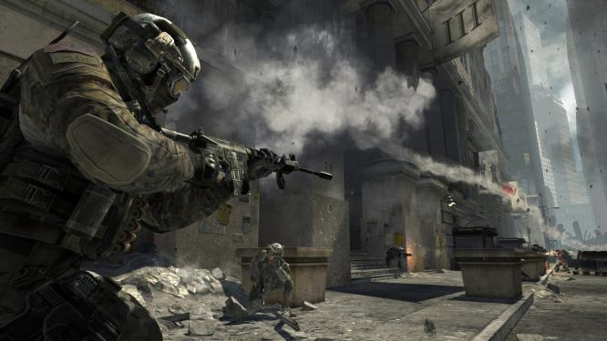 Activision advertises a new live action trailer for his first-person shooter Call of Duty: Modern Warfare 3, on 8 November appears.