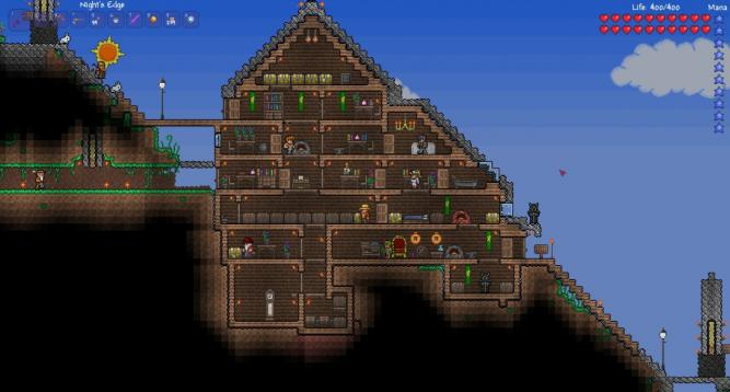 Terraria House Designs Easy Starter