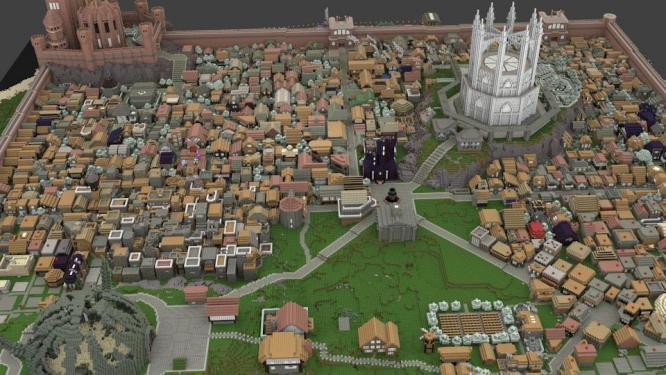 Minecraft spieler wollen die fantasy welt aus der tv serie game of