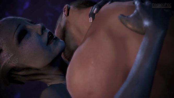 Онлайн-игры бесплатно Mass Effect Asari Sexy Moves HD PEGI +18.