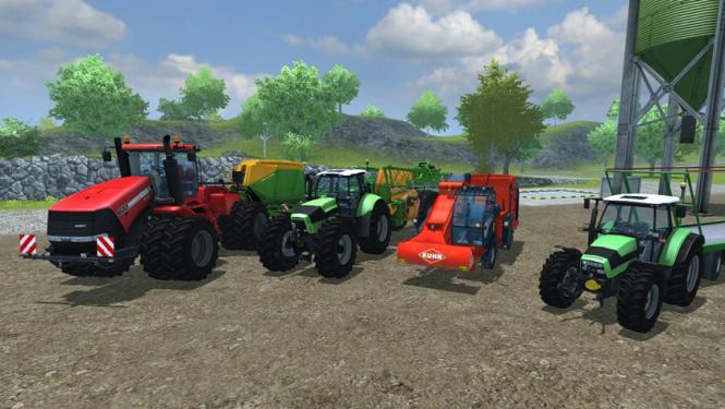 Der Landwirtschafts-Simulator 2013 legt grafisch deutlich zu. Weitere