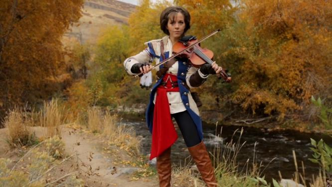 Lindsey Stirling Assassins Creed Wallpaper Assassin s Creed 3 Lindsey